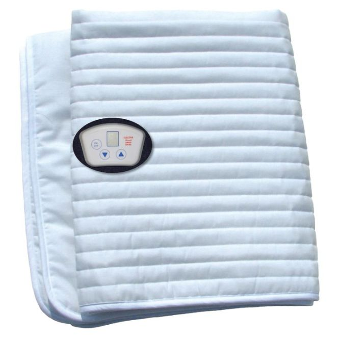Electrowarmth Massage Table Warmer Heated Mattress Pad 24 X 60 White Shell And