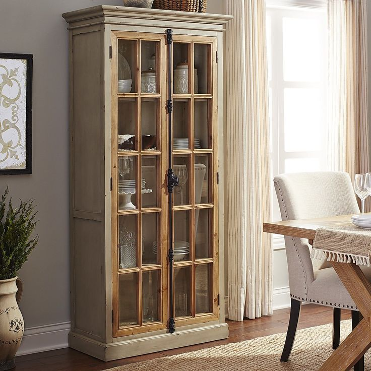 Linen Gray Tall Cabinet Gray Pier 1 Imports And Cabinets