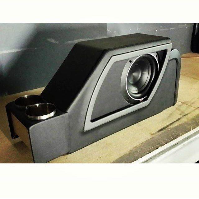 Custom Center Console Speaker Box
