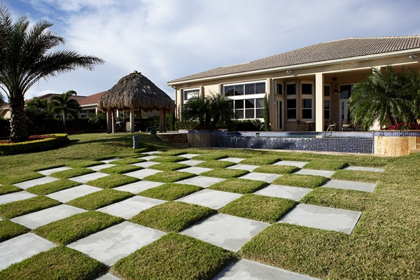Chess board outside yard | Yard ideas | Pinterest | Pools ... on Backyard Desert Landscaping Ideas On A Budget  id=38101