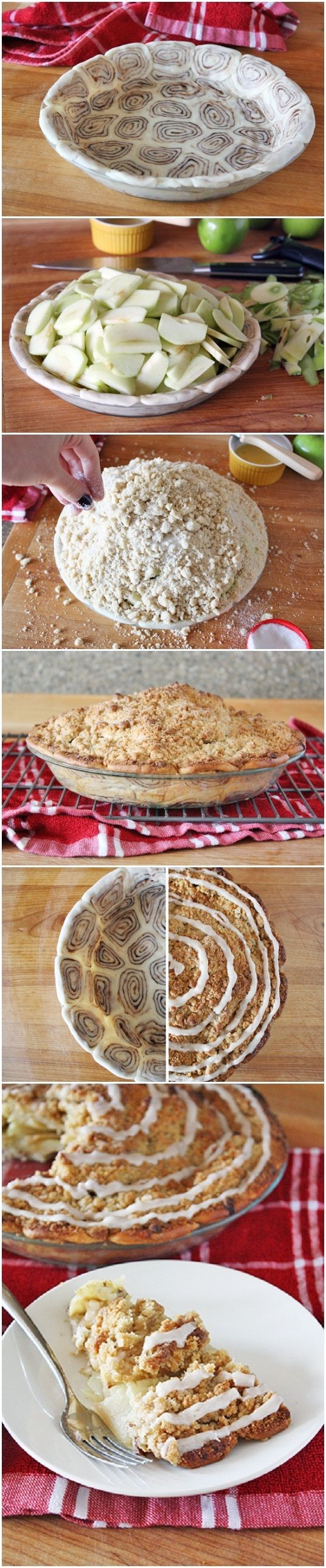 Cinnamon Roll Apple Pie Ive
