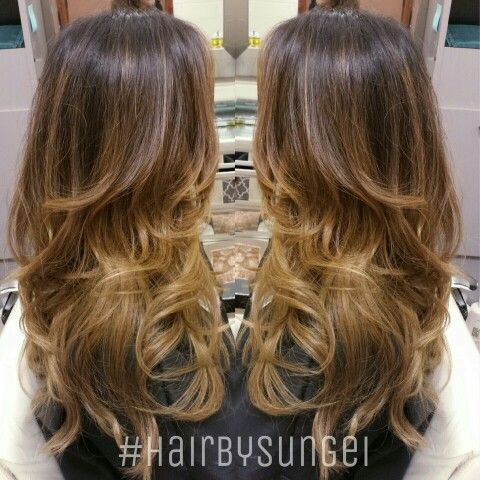 Colormelt Balayage Sombre Ombre Asian Hair Fashion