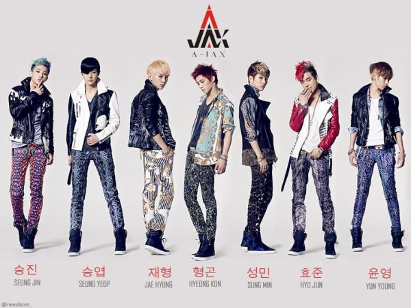 pic of a jax band | Jax is a South Korean boy band signed ...