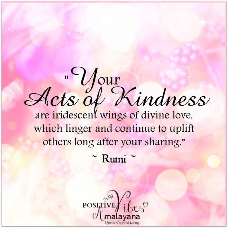 Rumi Quotes on kindness