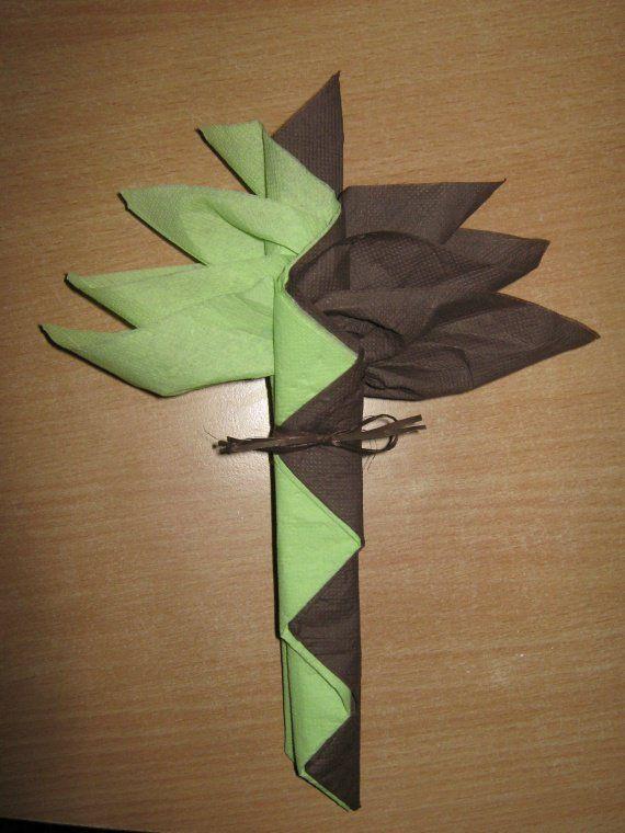 Decoration De Table Pliage De Serviette Origami Pour Une
