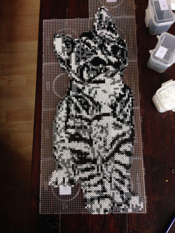 Garfield Patterns Bead Perler