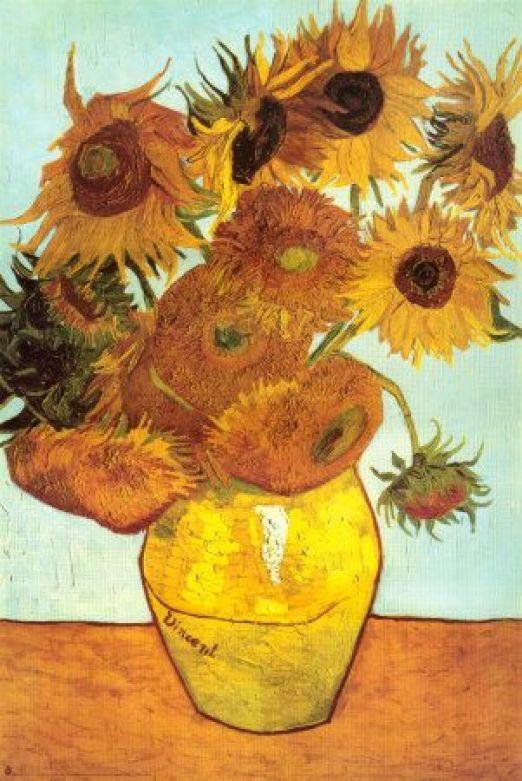 Girassóis, c.1888 - Vincent van Gogh: