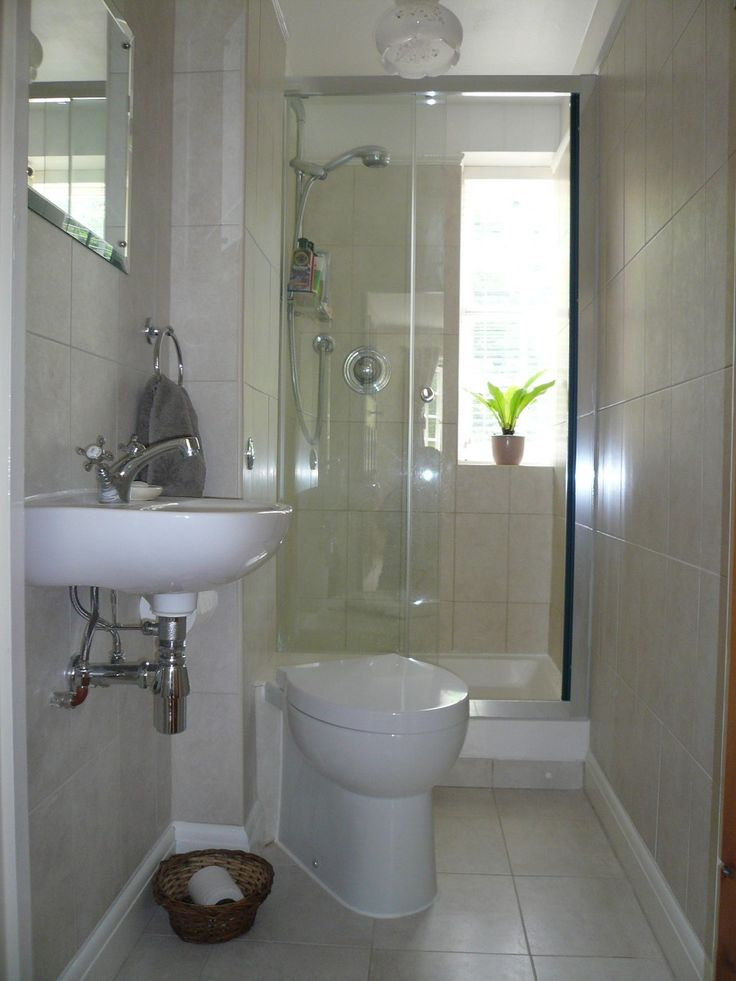 78 Best images about Bathroom ideas on Pinterest   Toilets ... on Small Space Small Bathroom Ideas Pinterest id=53064