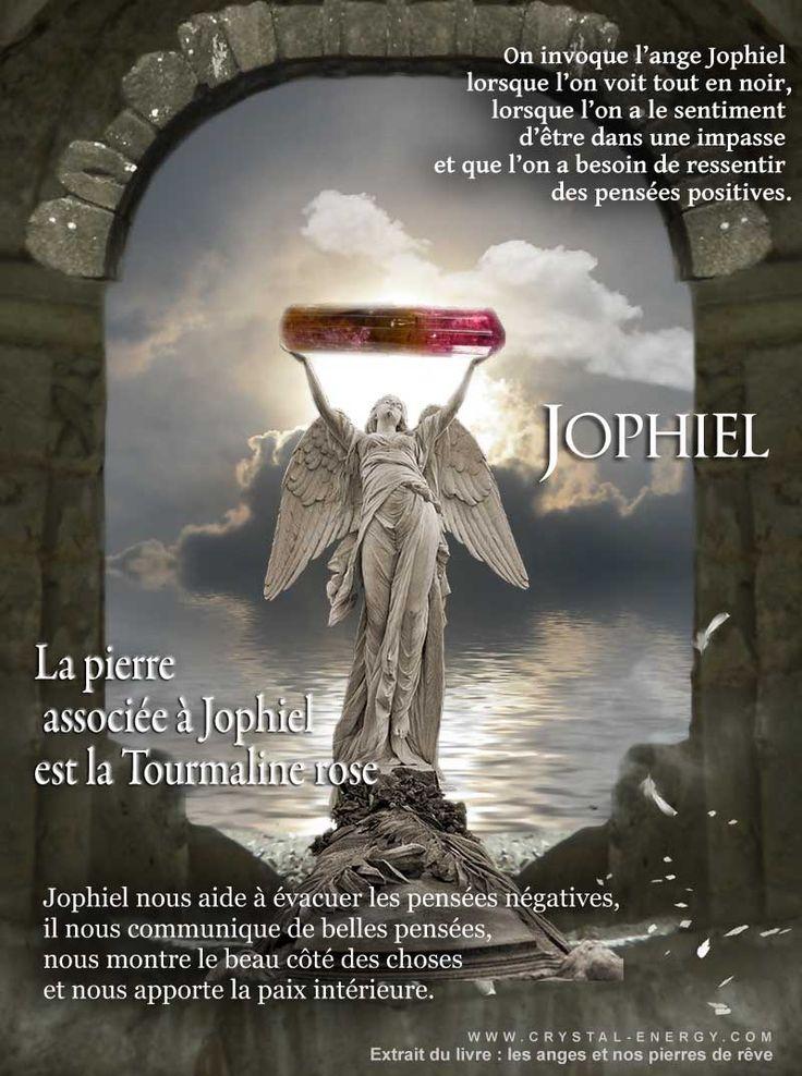 La Pierre Associe Lange Gardien Jophiel Est La Belle
