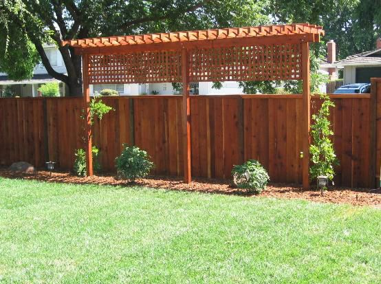 Fence & Trellis Privacy Screen When You Live Close To Your