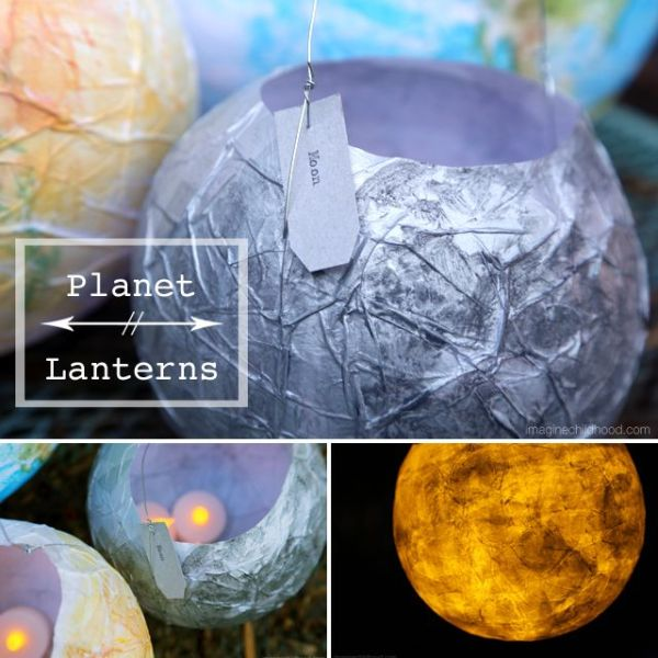 Make beautiful paper lanterns while learning about planets ...
