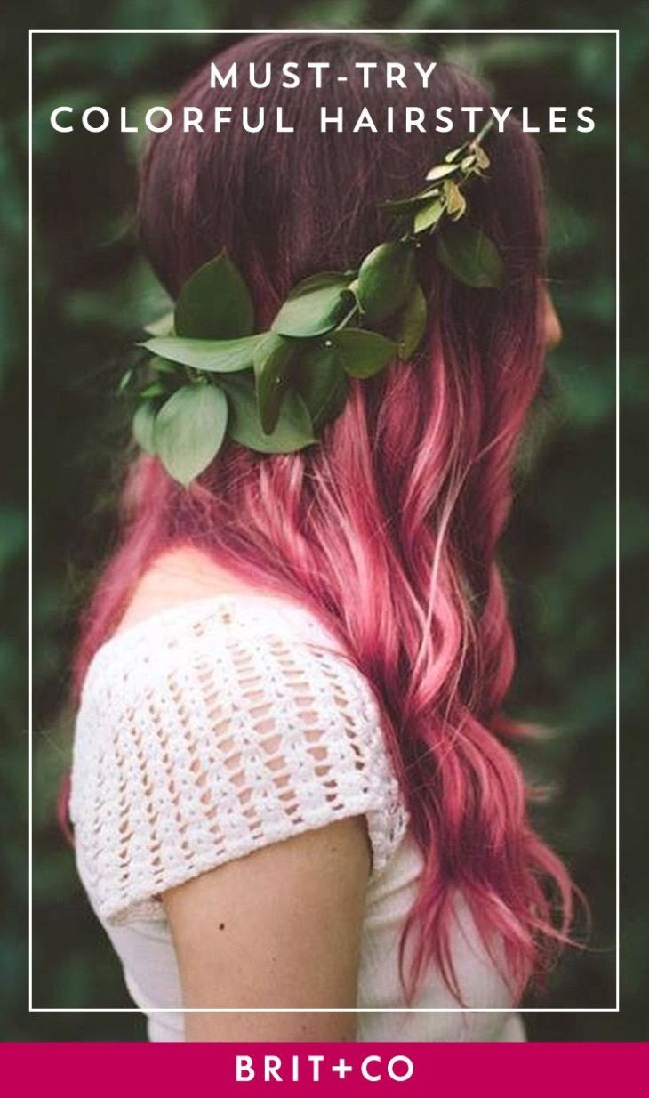 Colorful Hairstyles to Inspire Your Next Dye Job Inspiration
