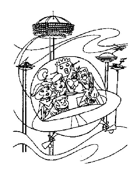 Jetson Coloring Pages And Printables Jetsons Care