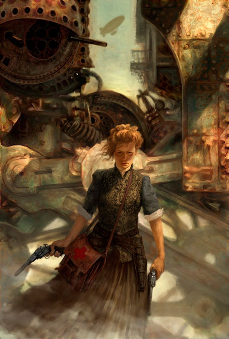 Art Oil Steampunk Paintings