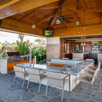 tropical patio outdoor kitchens 17 Best images about Outdoor tropical on Pinterest | Tommy