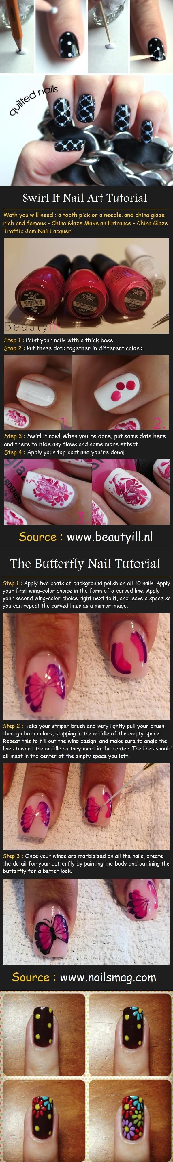 Lots of Nail Art Designs I love!!!    These are for the beginner with no special tools