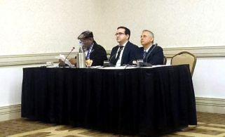 """""""Cuba y Estados Unidos en tiempo de cambio"""", evento de @Cubaposible y Cuban Research Center en #Washington. Víctor Fowler, Lenier González y Roberto Veiga. 27 y 28 de enero de 2015.:"""