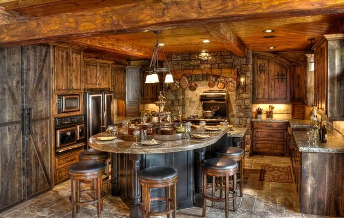 Unique Rustic Home Decor #rustic Dining Room Design Ideas