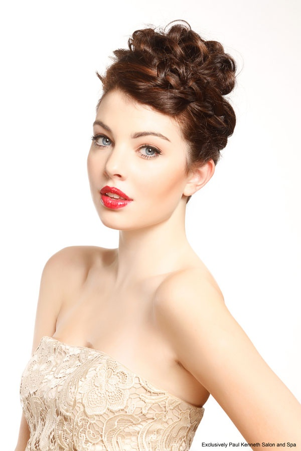 17 Best Images About Wedding Amp Special Event Hairstyles On