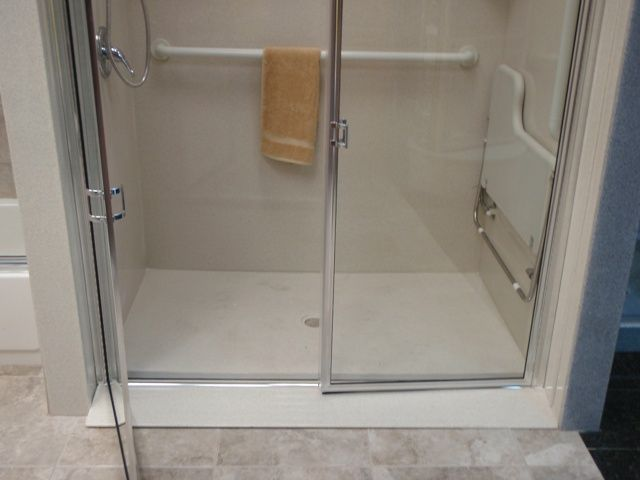 Handicap Shower Stalls Size SHower Pinterest Shower