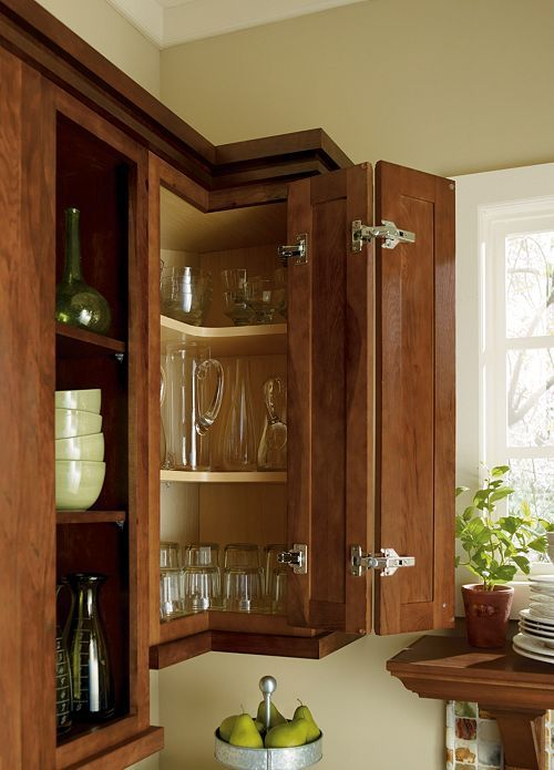 37 best images about kitchen remodel on pinterest french kitchens corner cabinets and islands on kitchen cabinets corner id=21995