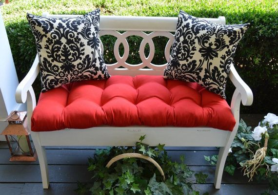 Indoor / Outdoor Cushion 3 PC Set For Bench / Swing