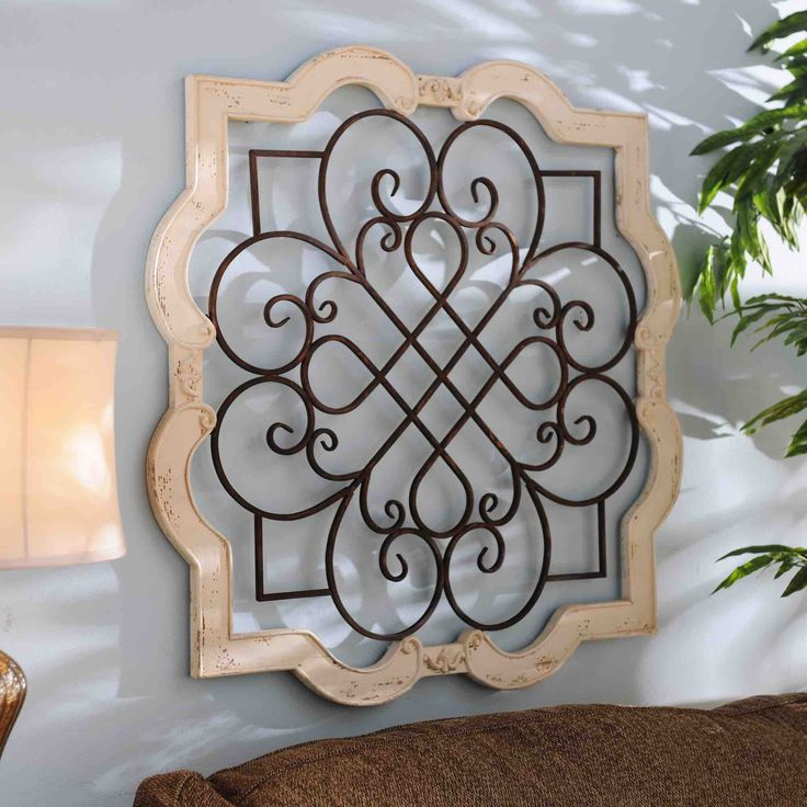 wood isabelline plaque blank white scroll design and on wall art decor id=12459