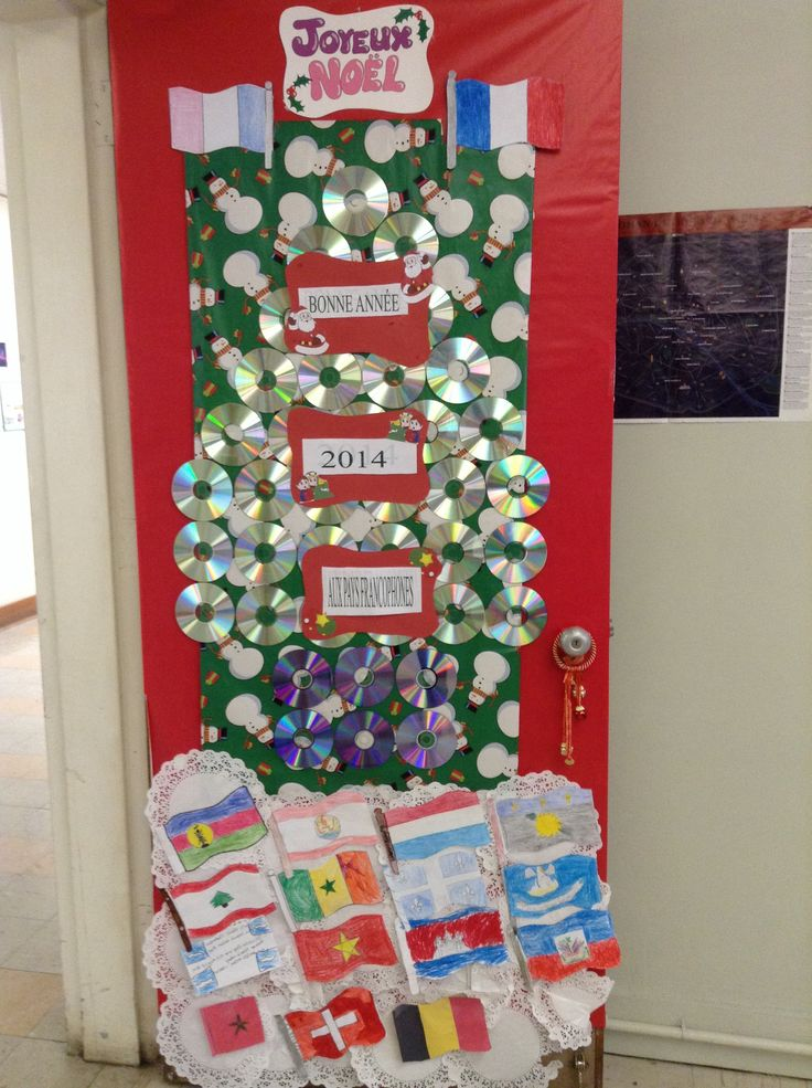 Classroom Christmas Recycled Decorations