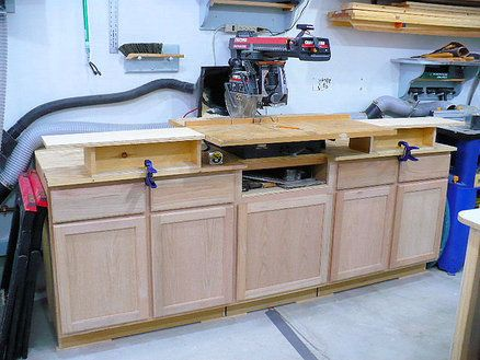 Storage Bench Amp Stand For Radial Arm Saw Ideas