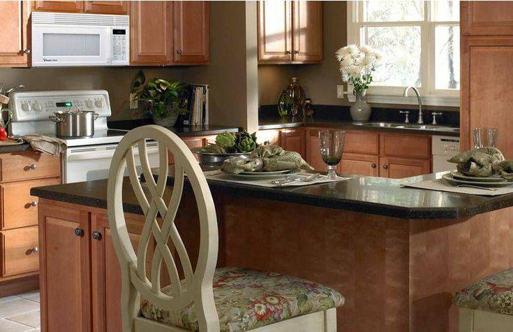 Modern L Shaped Kitchen Designs Island