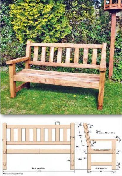 pinterest garden bench ideas 25+ Best Ideas about Garden Bench Plans on Pinterest