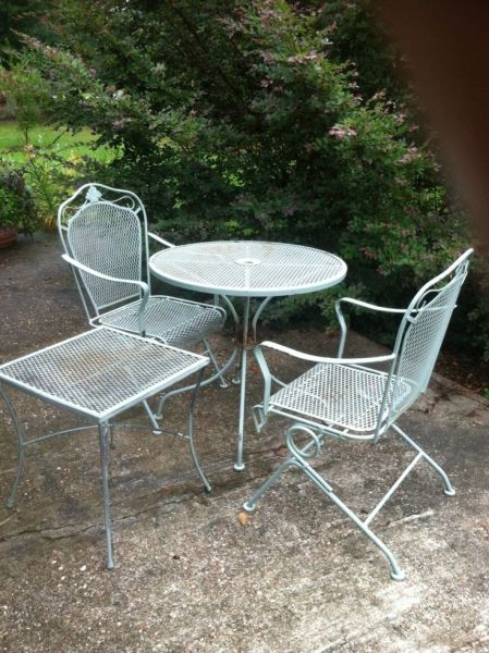 metal patio furniture 25+ best ideas about Metal Patio Furniture on Pinterest