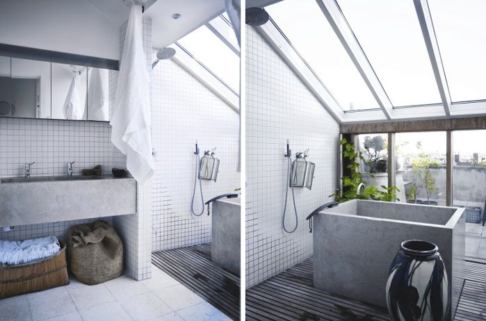 1000+ Images About Concrete Vanities, Showers & Tubs On
