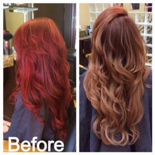 HOW TO From Max Red To Pretty Auburn Career Copper