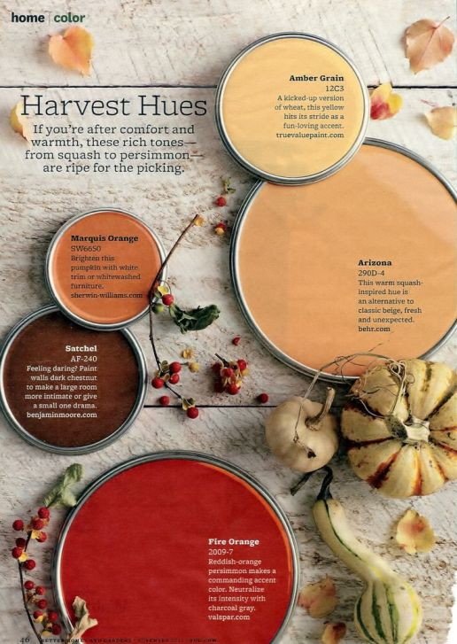 Fall color pallets ideas for a fall wedding.  You can make all these colors with frosting or fondant.: