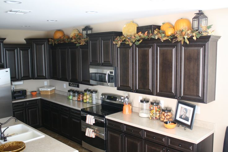 Lanterns On Top Of Kitchen Cabinets Home Decor Ideas