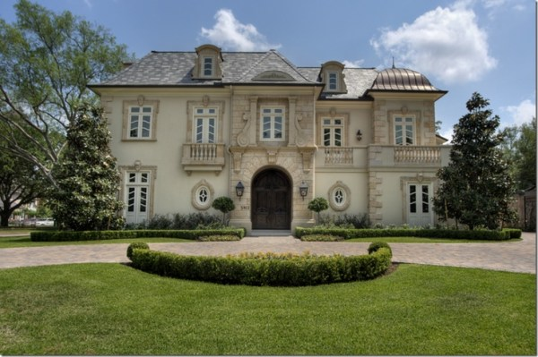 French chateau, Houston, Texas | Homes: European & Old ...