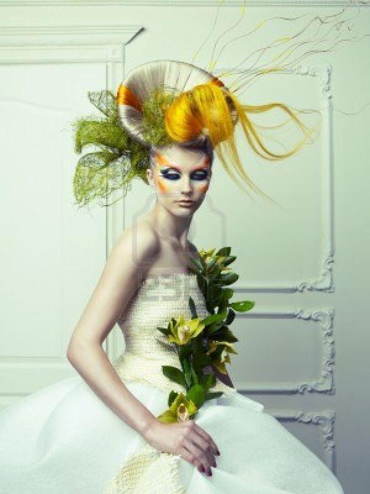 17 Best Images About Avant Garde Makeup On Pinterest