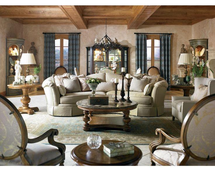 San Lorenzo Sectional//Thomasville Portland//Living Room