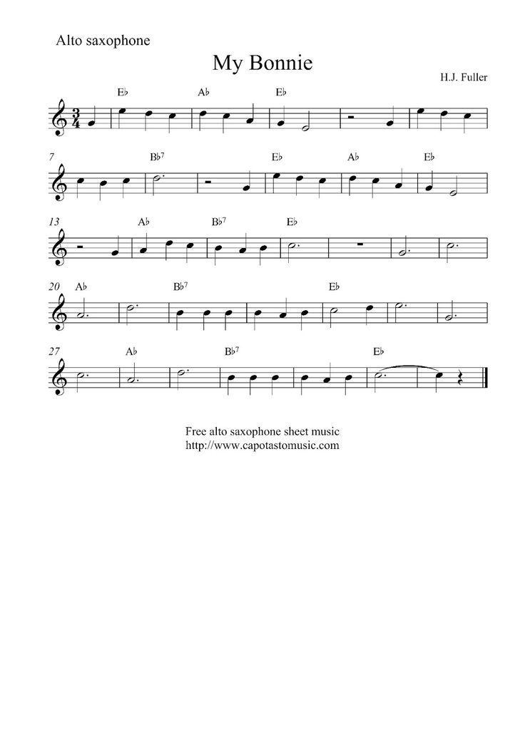 Sax Sheet Music Cheerleader Alto