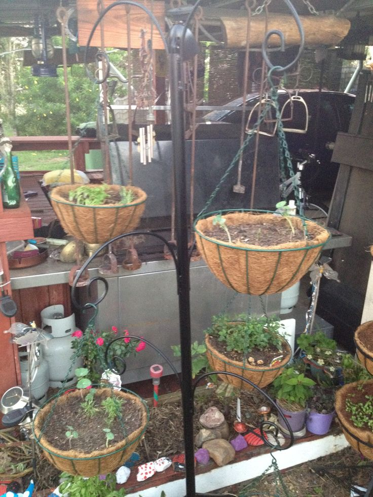 17 Best images about hay rake on Pinterest   Plant stands ... on Hanging Plants Stand  id=65697