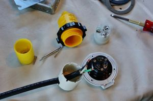 Installing a Marinco 30 Amp RV Power Plug Conversion Kit   Plugs and The o'jays