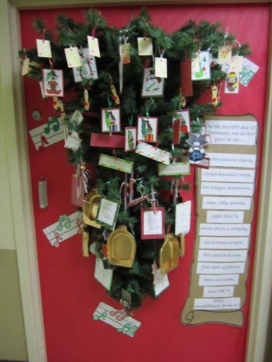 School Christmas Door Contest Winners Winner