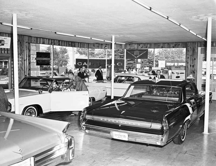 Late 50s Or Early 60s Dealerships Pinterest Cars