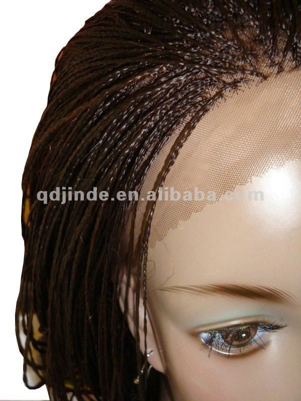 Braided Wigs For Black Women Micro Braided Lace Wigs