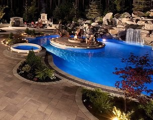 54 best images about Dream pool / Backyard on Pinterest ... on Dream Backyard With Pool id=93765
