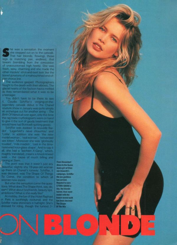 1000+ images about Claudia Schiffer Fashion Shoots on ...