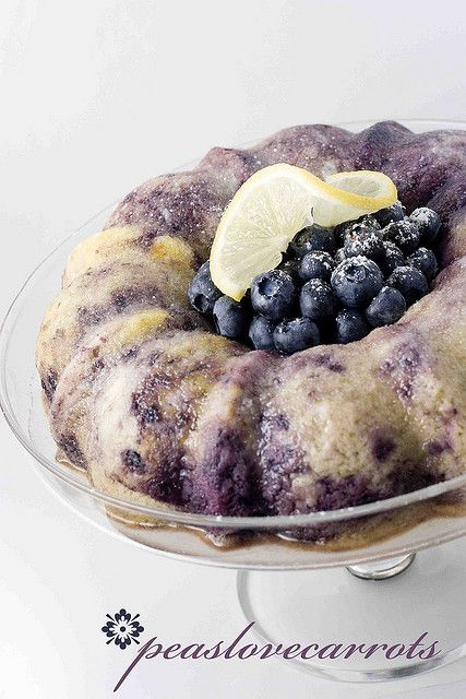 Blueberry Lemon Bundt Cake – recipe includes a boxed cake mix, fresh or frozen blueberries, and yogurt.