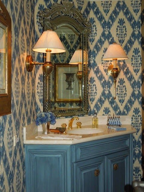 272 Best Images About Beautiful Interiors Powder Rooms