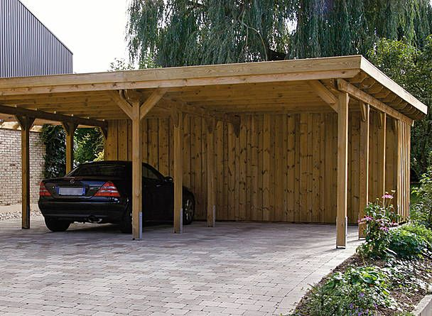 Wood Carports Flat Roof Sloping Roof Braun Amp Wrfele Perolas Pinterest Flats Products